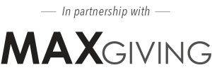 In partnership with MaxGiving